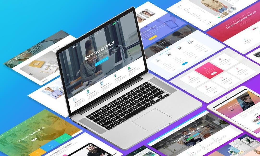 企业网站建设中常见的几种类型