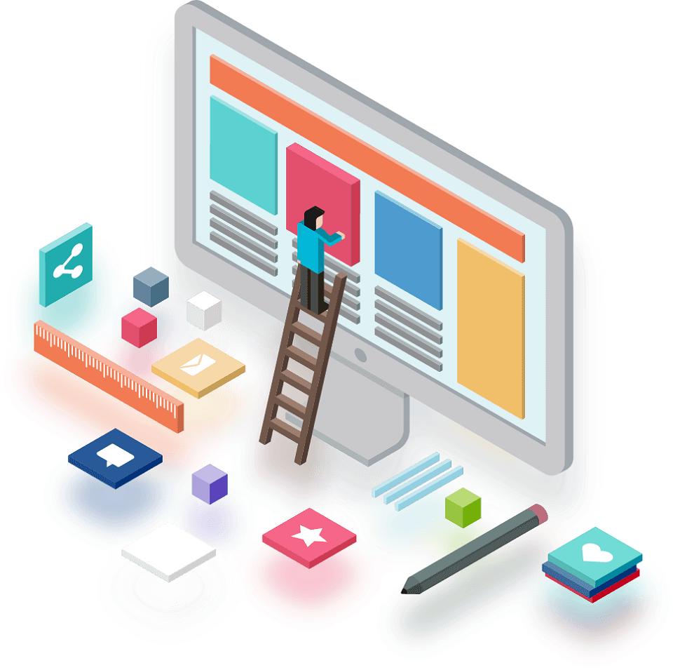网页版面设计的一般步骤