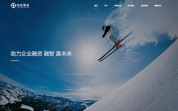 中企升亿达投资公司网站定制开发