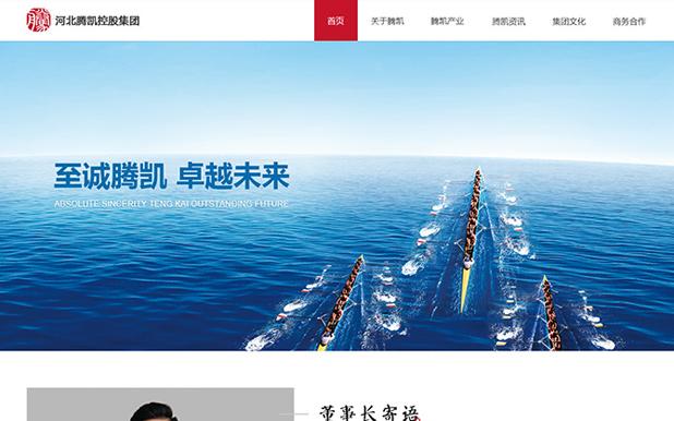 河北腾凯控股集团-投融资类网站建设定制开发