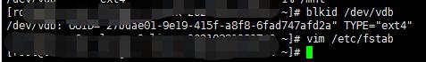 华为云、阿里云、腾讯云、百度云centOS7挂载新数据盘的完整操作步骤